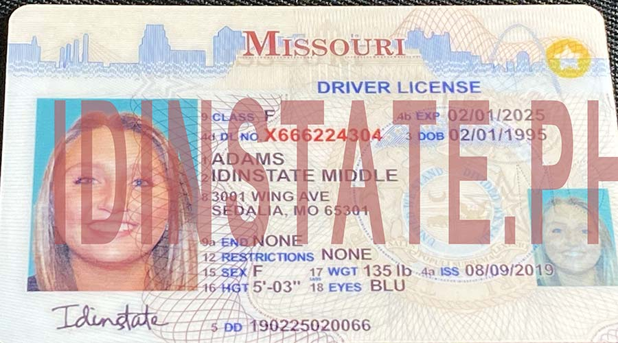 IDINSTATE IDINSTATE.PH New Missouri State Fake ID