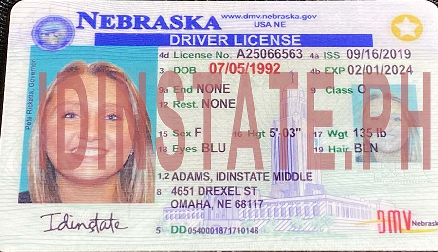 IDINSTATE IDINSTATE.PH New Nebraska State Fake ID