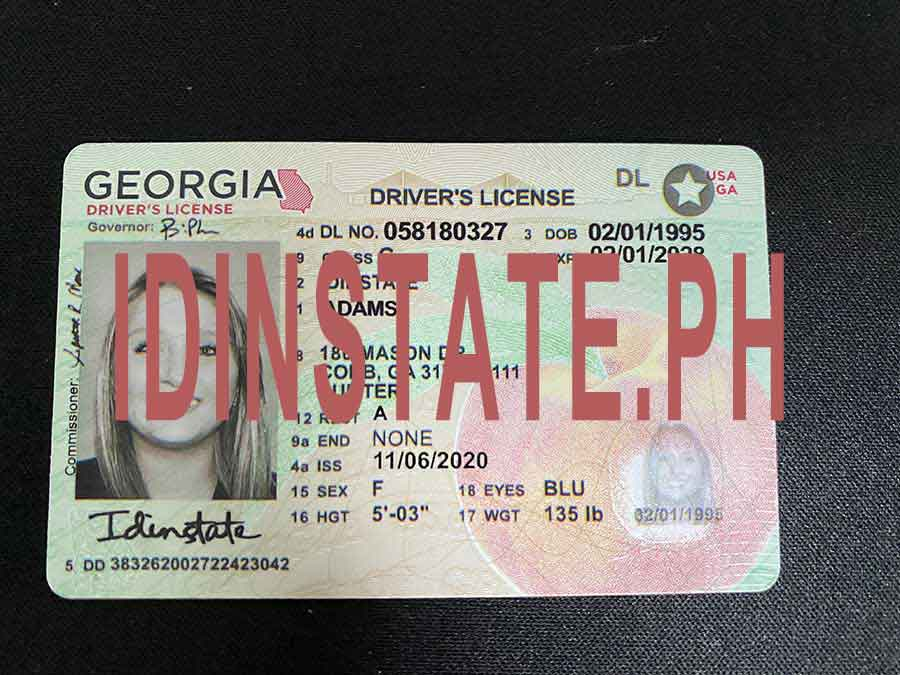 IDINSTATE IDINSTATE.PH New Georgia State Fake ID