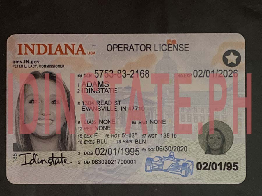 IDINSTATE IDINSTATE.PH New Indiana State Fake ID