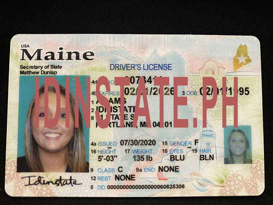 IDINSTATE IDINSTATE.PH New Maine State Fake ID