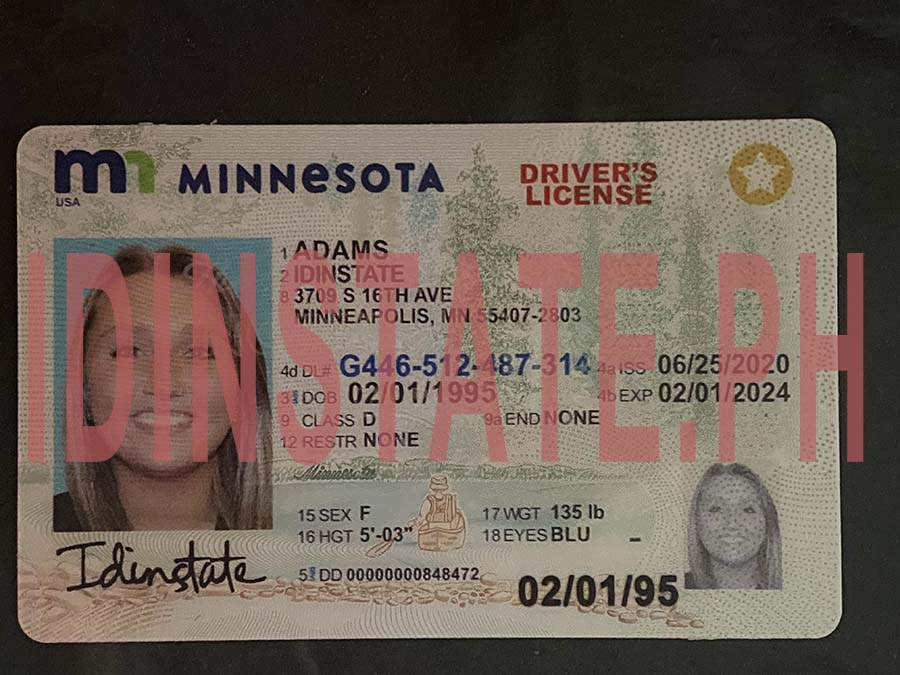 IDINSTATE IDINSTATE.PH New Minnesota State Fake ID