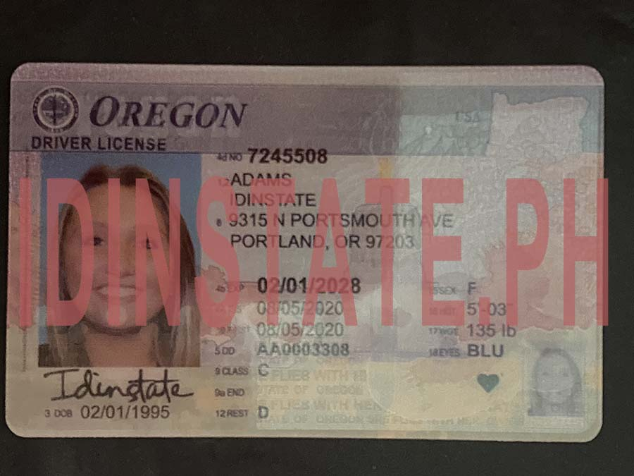 IDINSTATE IDINSTATE.PH New Oregon State Fake ID