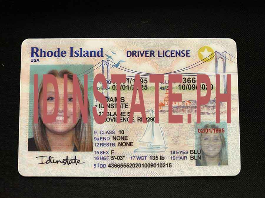 IDINSTATE IDINSTATE.PH New Rhode Island State Fake ID