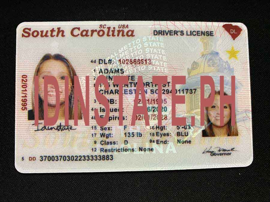 IDINSTATE IDINSTATE.PH New South Carolina  State Fake ID